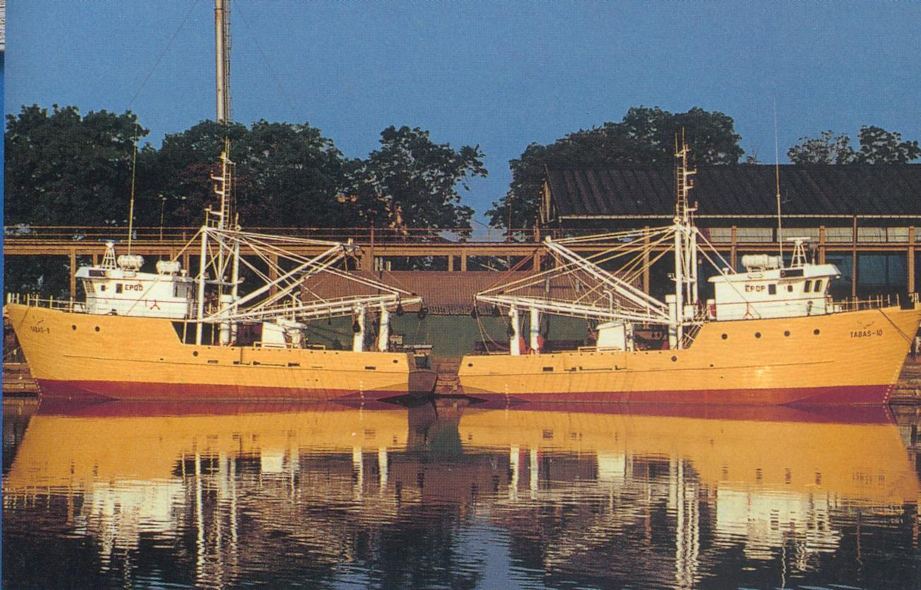 Multipurpose fishing trawler WKR-25